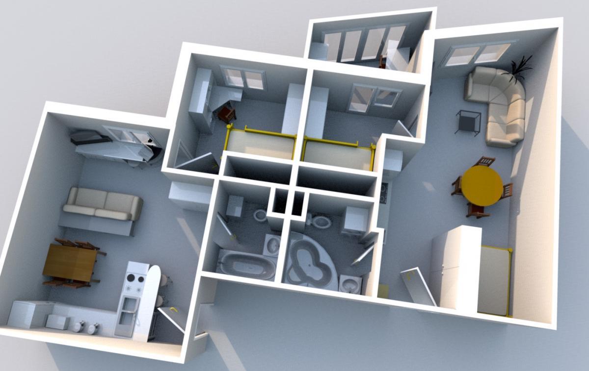 красоту подземного объединение двух квартир строительные фото что бросается